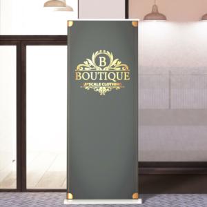 Platinum Banner Stand