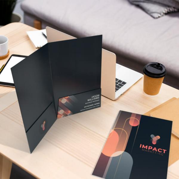 Custom Full Color Presentation Folders