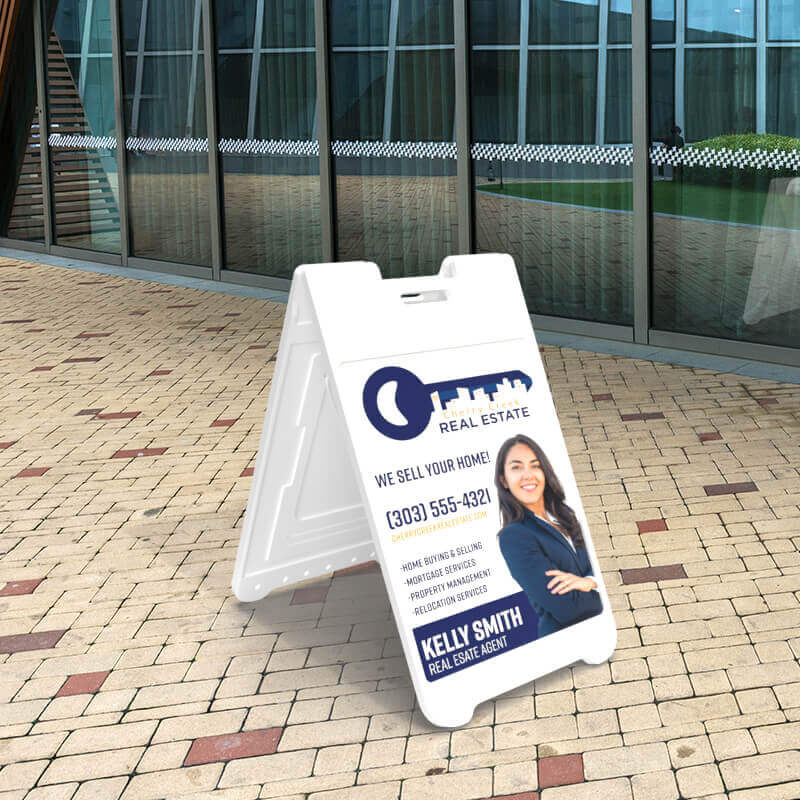 Portable Sidewalk A-Frame Sign
