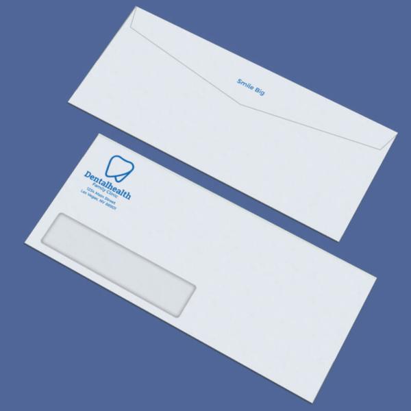 Spot Color Business Envelopes