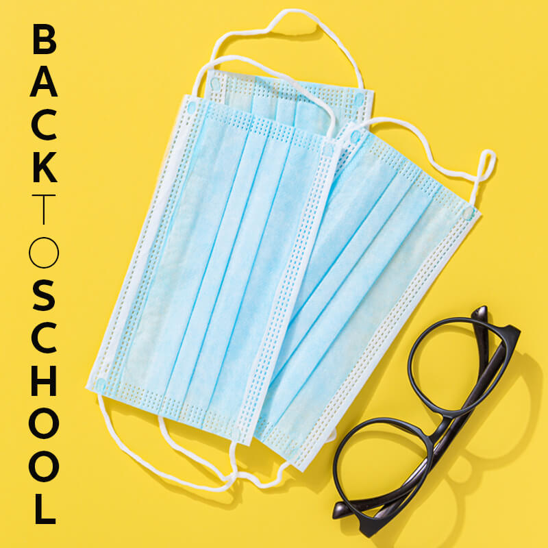 Disposable Face Masks - Back to School